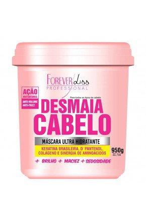 site desmaia cabelo forever liss mascara ultra hidratante 950g
