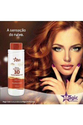 gloss matizador 3d ruivo sensation magic profissional 500ml site