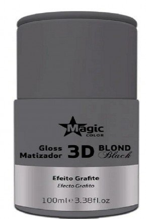 gloss matizador 3d blond black efeito grafite 100m site