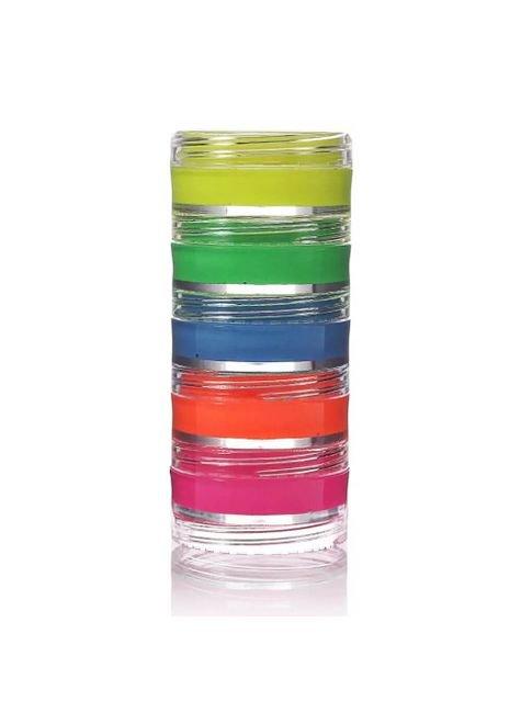 tinta fluorescente cremosa facial neon colormake 5 cores