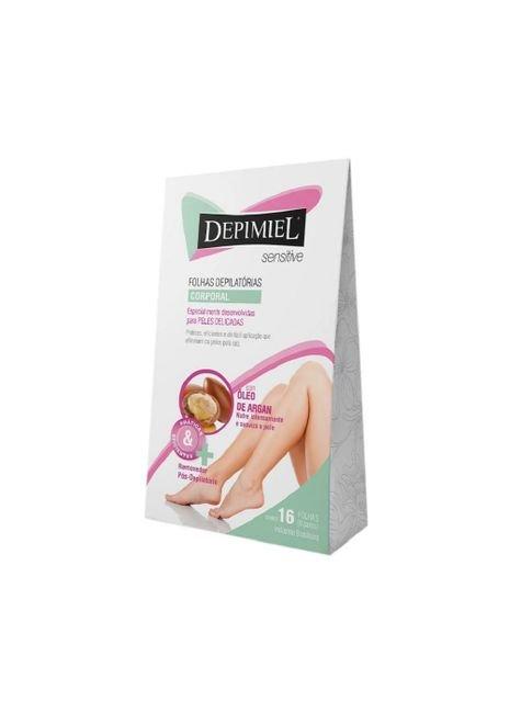 folhas prontas depimiel para depilacao corporal sensitive 16 unidades site