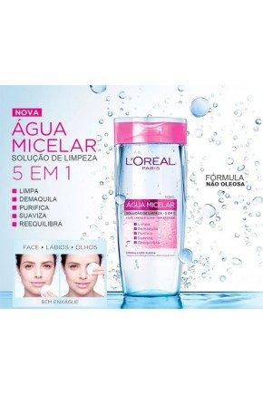 agua micelar loreal paris 200ml soluco de limpeza 5 em 1 d nq np 729269 mlb28825010398 112018 f