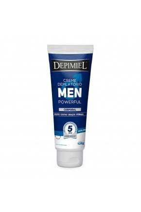 creme depilatorio corporal men powerful 120g depimiel