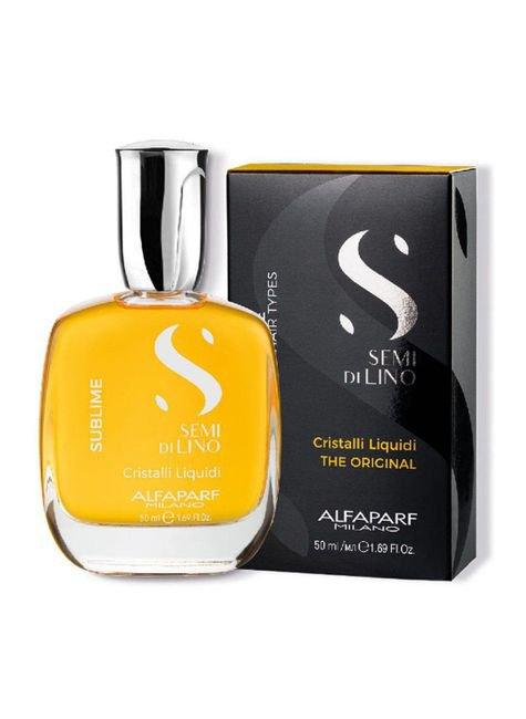 oleo capilar cristalli sublime 50ml alfaparf semi di lino