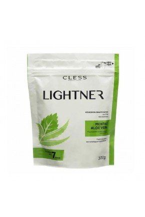 site po descolorante cless lightner menta e aloe vera 300g 12652