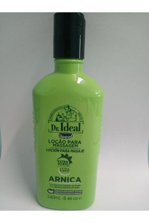 locao ideal arnica p massagem 240ml extra forte