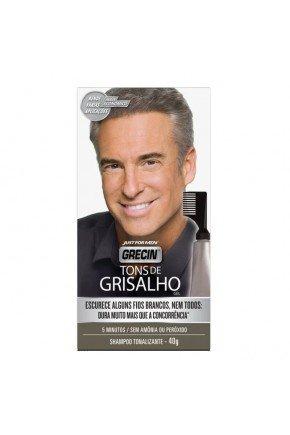 shampoo tonalizante grecin tons grisalhos gel 40g 14518