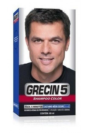 shampoo color h 40 castanho medio escuro