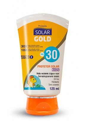 protetor solar gold kids fps 30
