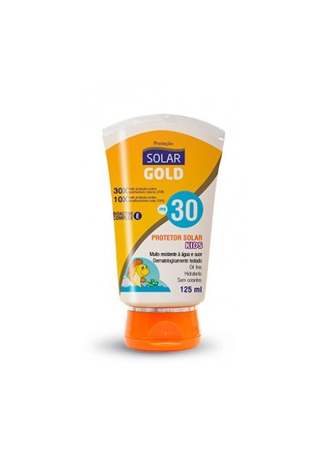 protetor solar gold kids fps 30