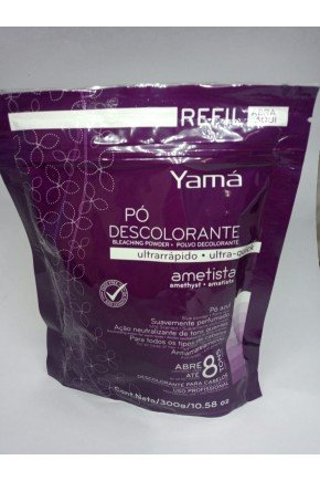 yama po descolorante refil ametista 300g