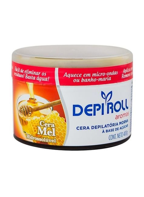 cera depilatoria a base de mel 400g