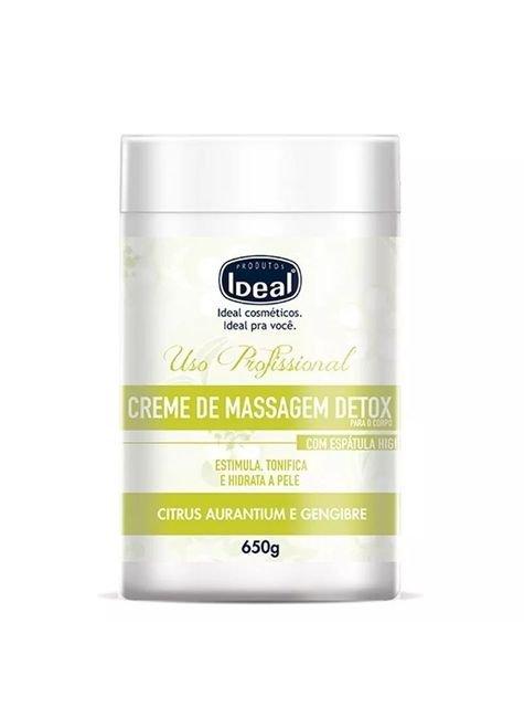 creme para massagem corporal ideal detox 650g d nq np 981266 mlb27696114207 072018 f
