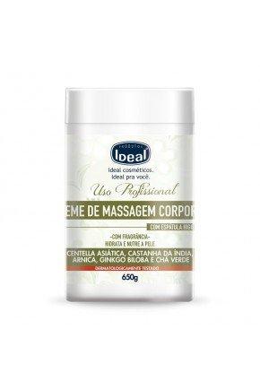 creme de massagem corporal com fragrancia 650g