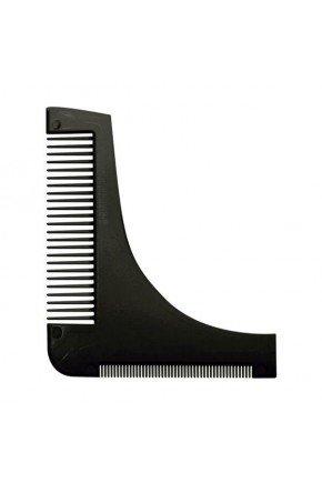 pente pastico modelador e alinhador de barba