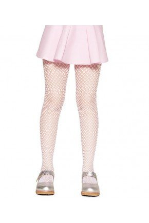 lobinha meia calca arrastao rosa