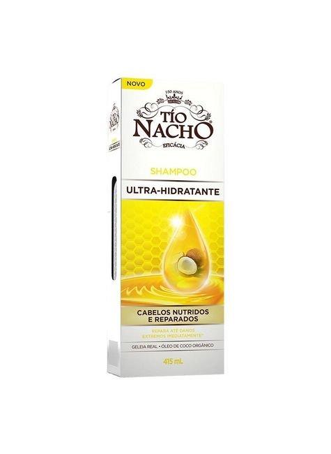 shampoo tio nacho ultra hidratante geleia real leo de coco 415ml