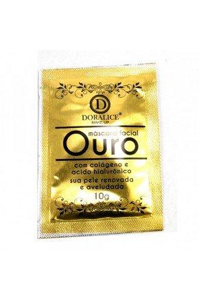 m scara facial ouro doralice makeup 2 2