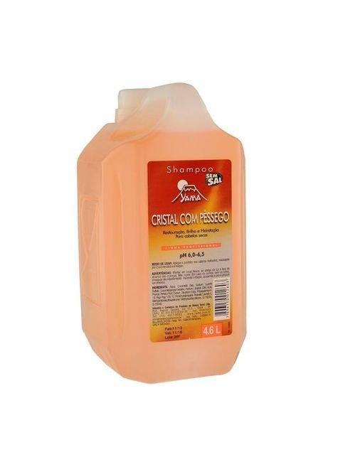 yama cristal com pessego 4 6 shampoo