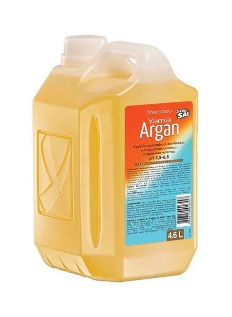 shampoo argan sem sal 4 6 litros