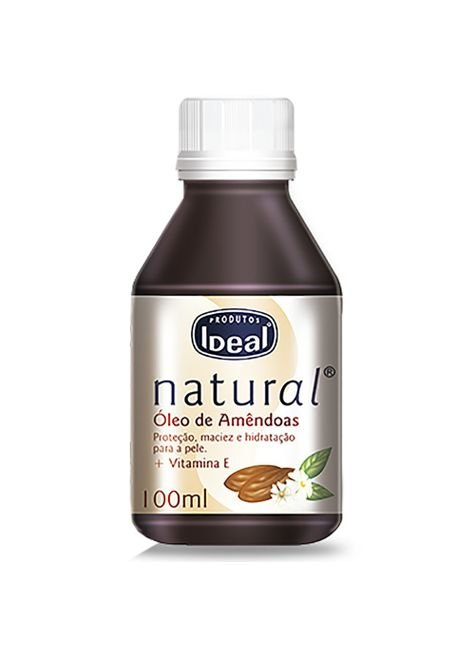 oleo de amendoas ideal natural 100ml 857