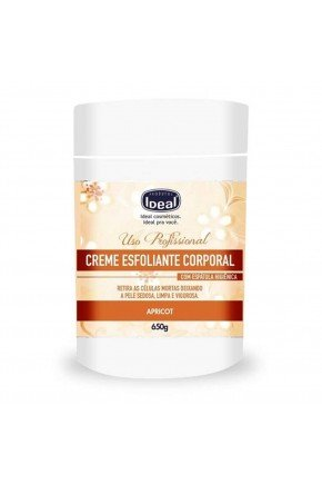 creme esfoliante apricot ideal 650g