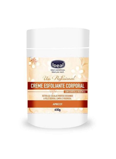 creme esfoliante apricot ideal 650g