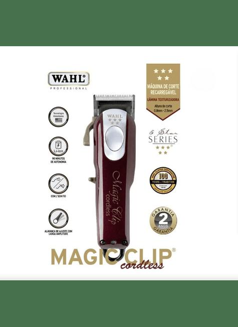 maquina de corte wahl magic cordless clip sem fio bivolt majare