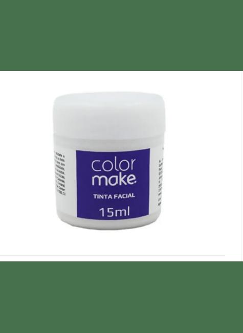 tintura facial color make 15ml branco majare