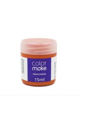 tintura facial color make 15ml laranja majare
