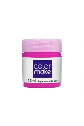 tintura facial color make 15ml rosa majare