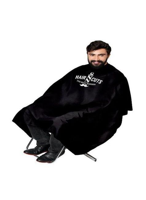capa cetim sem manga com botao e impressao para barbeiro santa clara majare