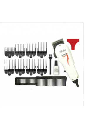 Máquina de cortar Cabelo Wahl Pro Basic 220v com fio Majarê Brasil