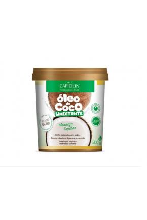 manteiga capilar oleo de coco capicilin 500g majare brasil