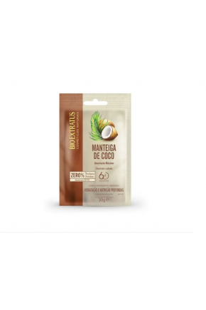 sache de hidratacao bio extratus manteiga de coco 30g majare brasil