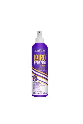 Spray matizador Loiro Perfeito Origem Nazca 300ml Majare Brasil