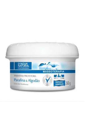 Creme de Massagem Parafina e Algodão D'água Natural 260g Majarê Brasil