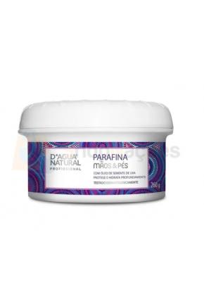 Creme Parafina Mãos & Pés D'água Natural 260g Majarê Brasil