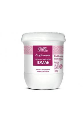 Creme de Massagem D'agua Natural Nano DMAE 650 g