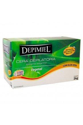 depimiel cera quente depilatoria vegetal 1 k majare
