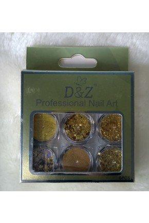 glitter dourado d z majare brasil