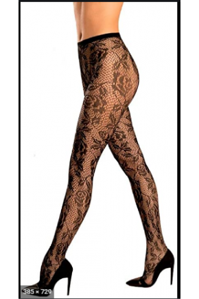 Meia Calça Trend Arrastão 5193 loba Majarê Brasil