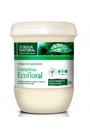 CREME DAGUA NATURAL ECOFLORAL MAJARE BRASIL
