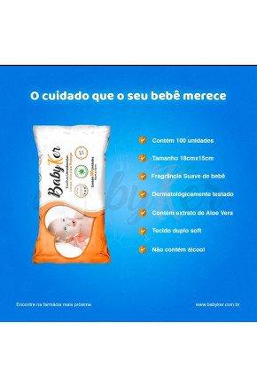 lenco umidecido baby ker majare brasil